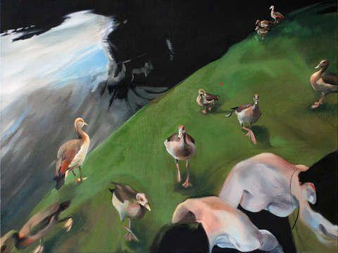Casarca I by Jennifer Andrews ($1500)