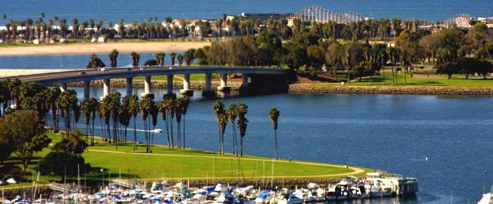 Mission Bay Rv Resort Rv Park Campground San Diego California San Diego Travel Mission Bay San Diego San Diego Activities