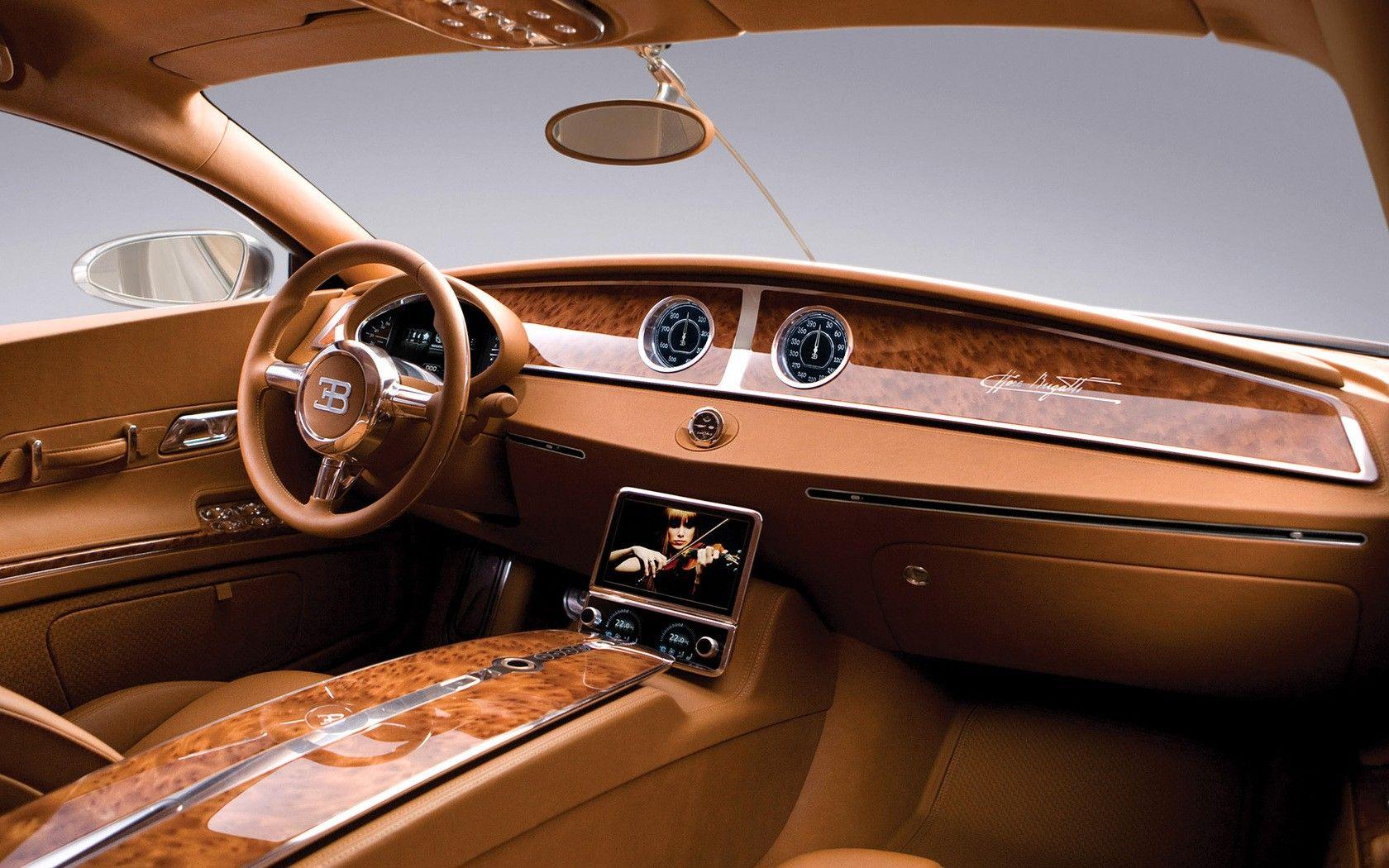 Bugatti interrior. gorgeous