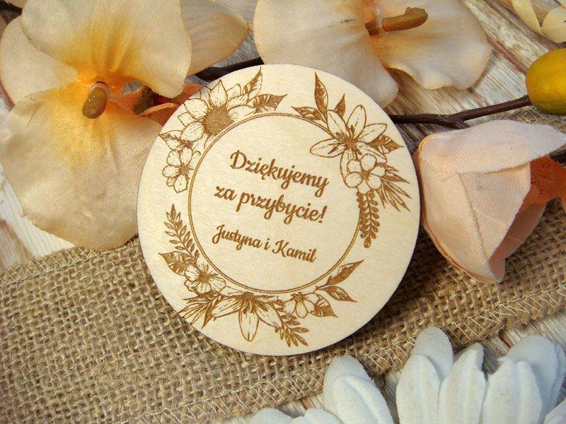 Personalizowane Magnesy Na Wesele Pm2 Decorative Plates Decor