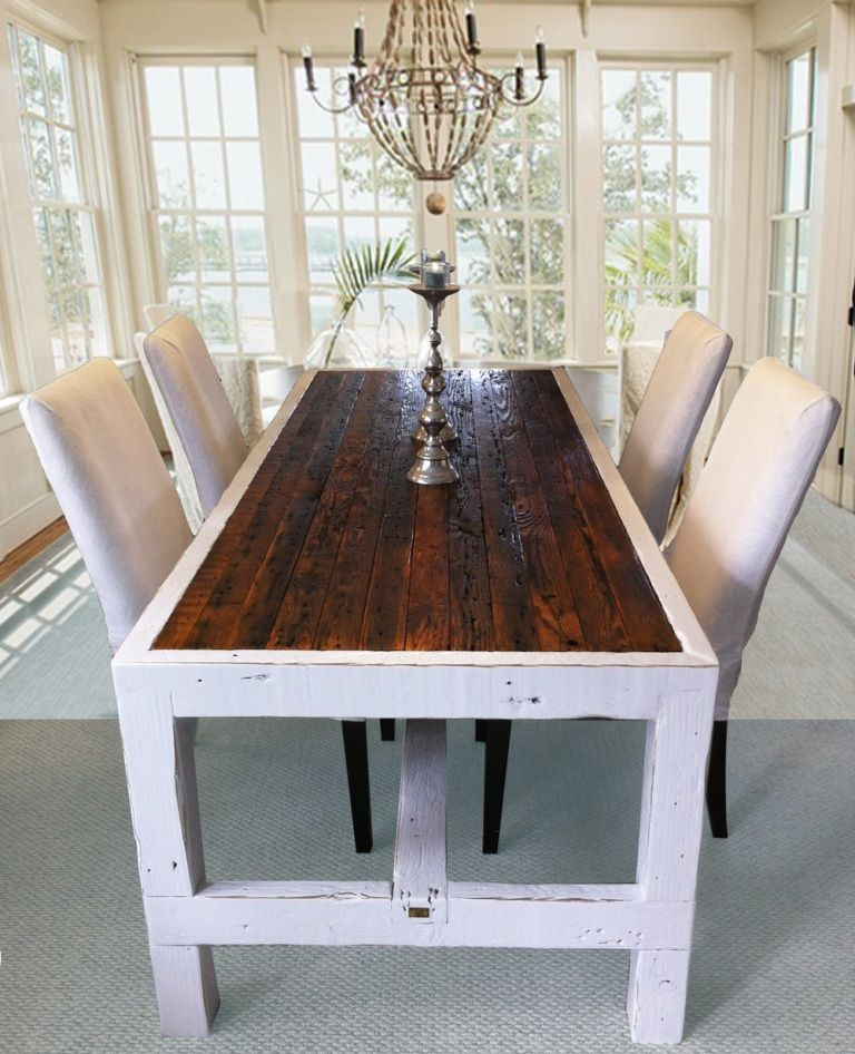 39++ Long narrow dining table a bench Trending