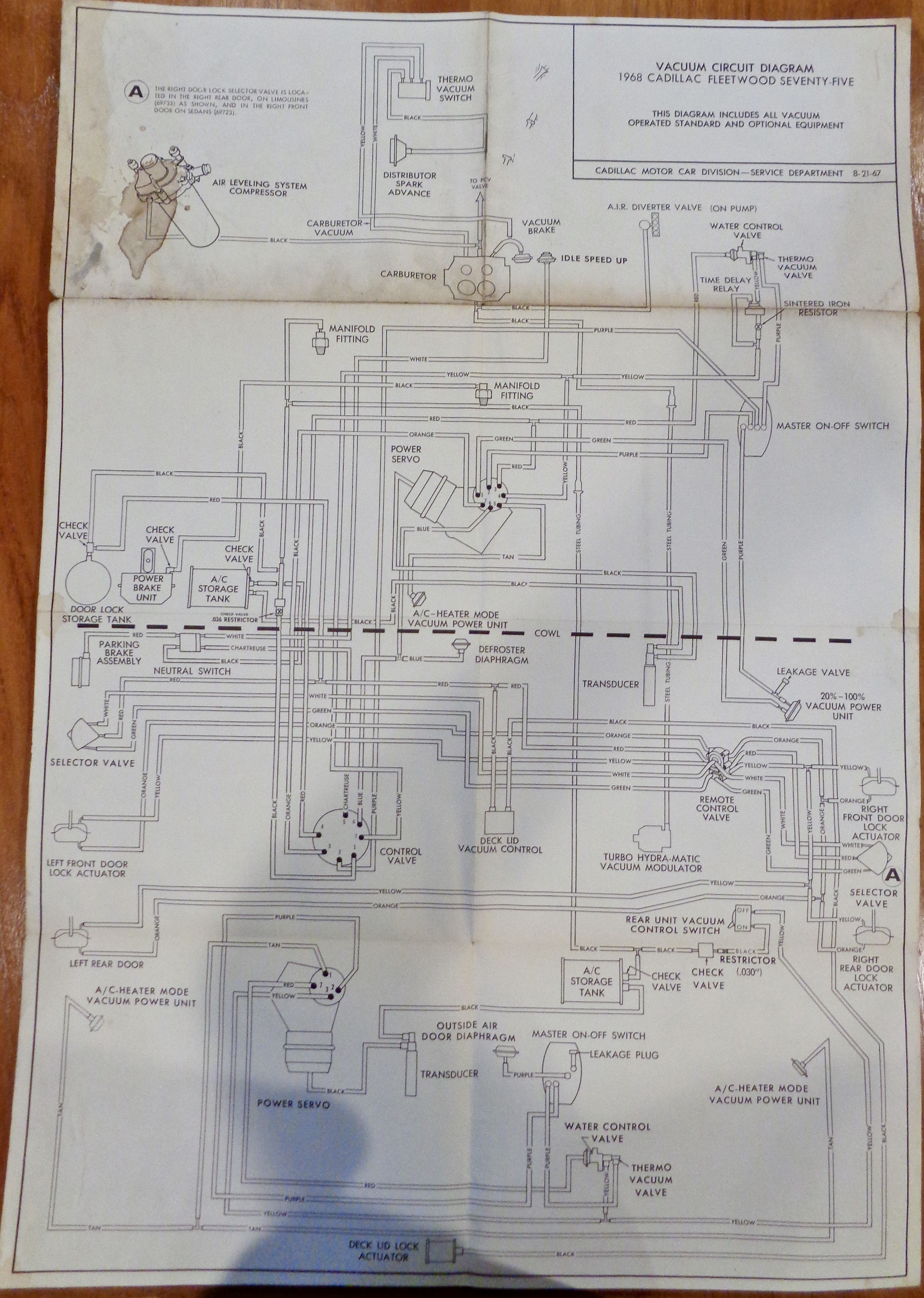 Wiring Diagram Further 1969 Cadillac Wiring Diagram On 1968 Cadillac