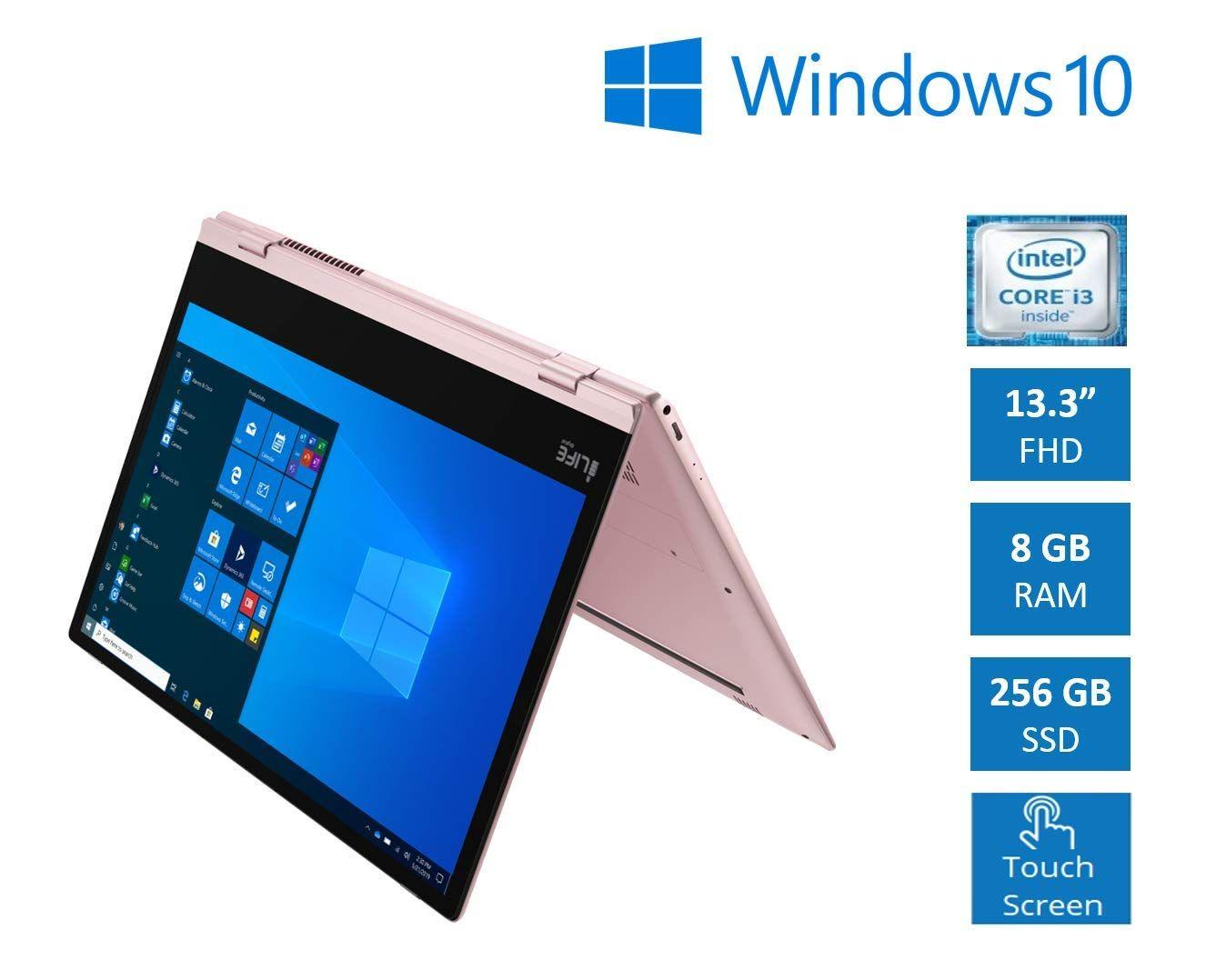 Lifedigital Zed Note Cx3 13 3 Inch Touchscreen Convertible Laptop Intel Core I3 8gb 256gb Ssd Win10 Intel Core Intel Ssd