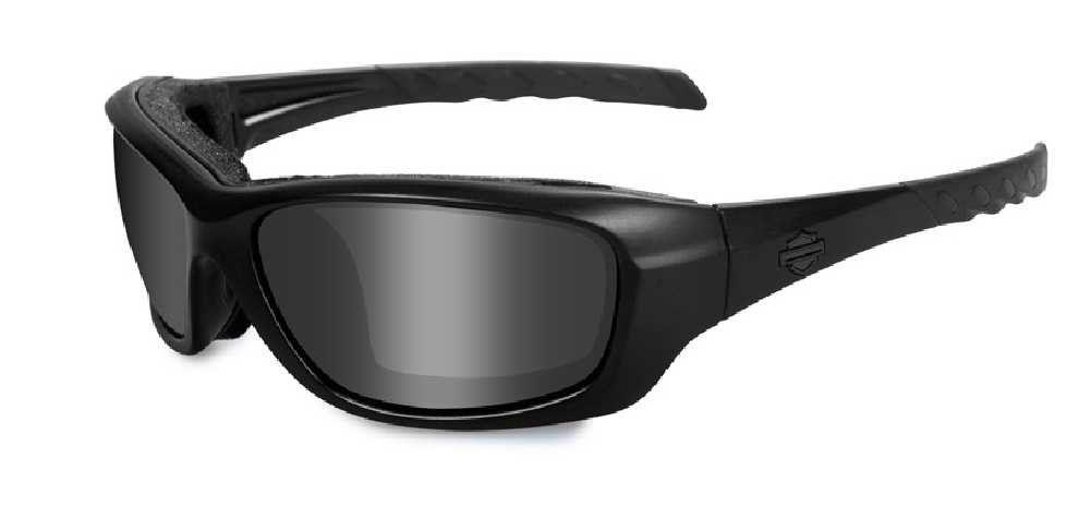 94a47fb5515 Harley-Davidson Gravity Grey Lens w  Matte Black Frame Sunglasses HDGRA01.  Features Wiley