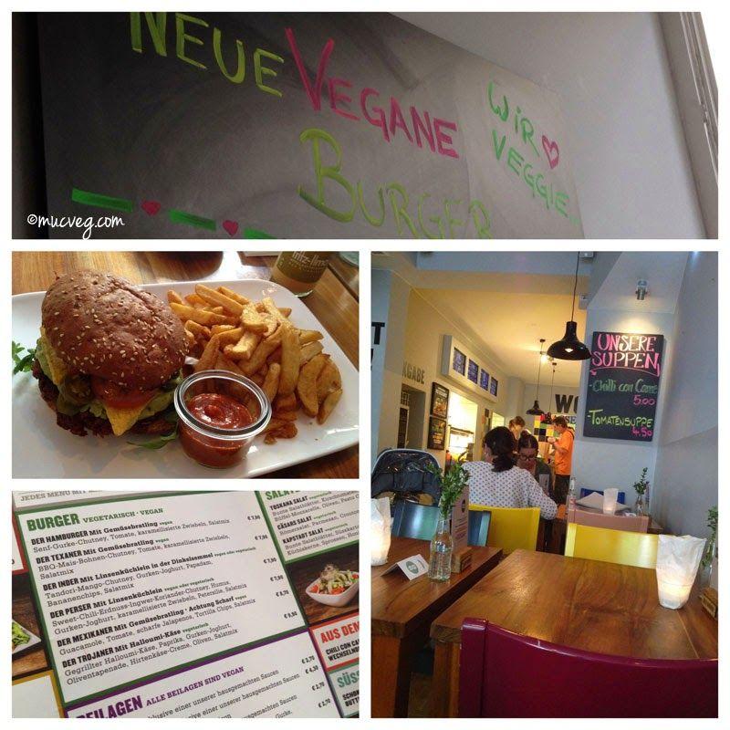 muc.veg: *Burger* in der Hamburgerei , München #veganmofo
