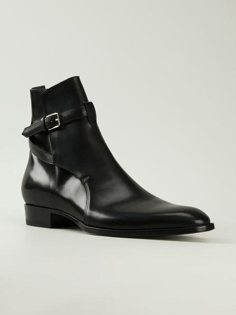 Saint Laurent 'Hedi' ankle boots
