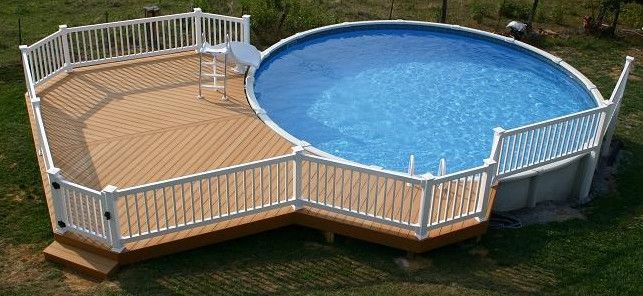pool slide for above ground pool - Diy Above Ground Pool Slide