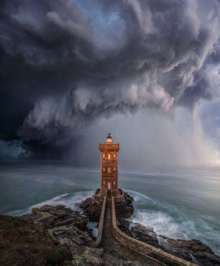 Bretagne France On Instagram Phare De Kermorvan Le Phare A Terre Le Plus Occidental De France Lighthouse Pictures Bretagne Nature Photography