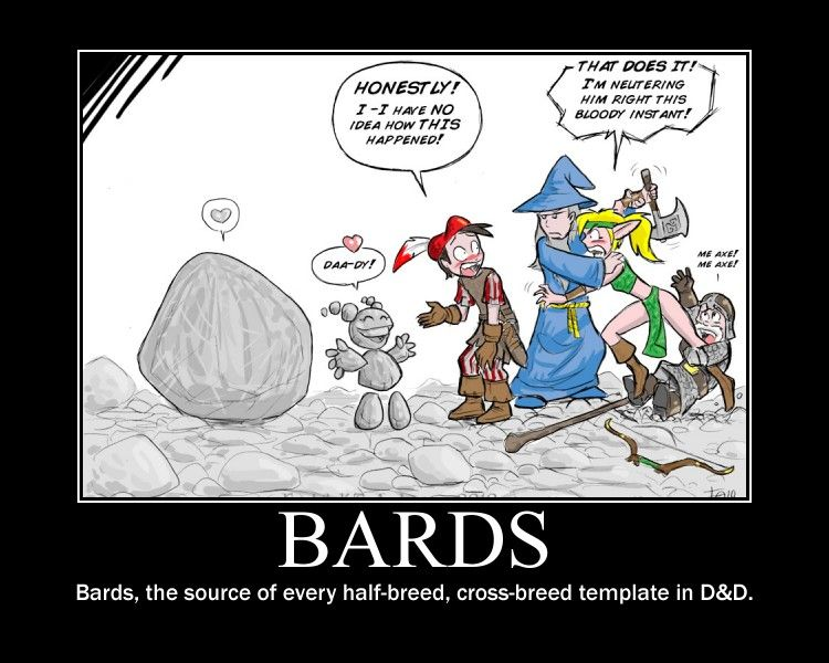 Those bards get around just as much as dragons do it seems those bards get around just as much as dragons do it seems pronofoot35fo Choice Image