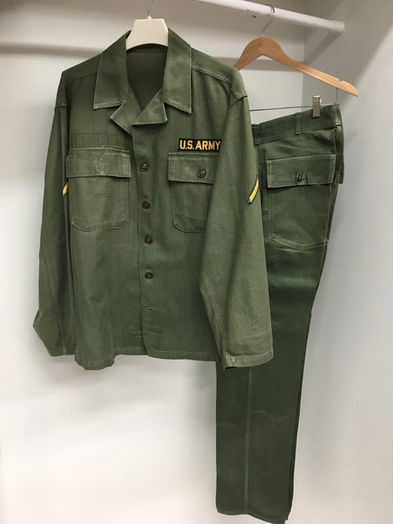 WW2 WWII US Army Military Uniform Shirt or Pants 1947 Issue