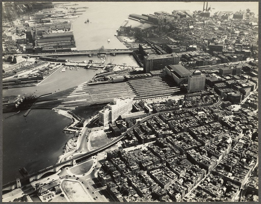 Boston 90 years ago 49 amazing aerial pictures show the
