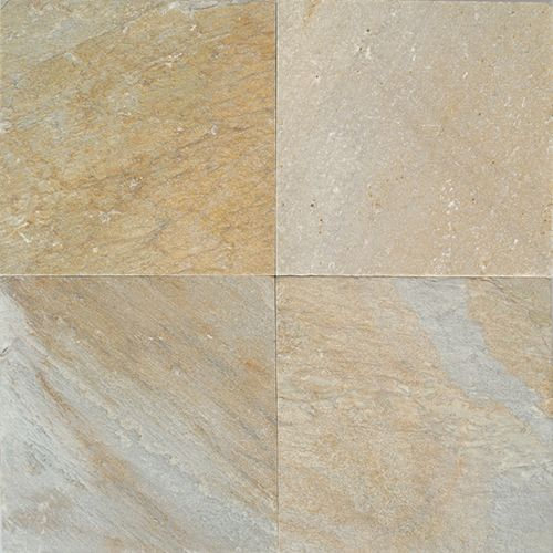 Great Room Fireplace Surround Daltile Quartzite Golden Sun Natural - Daltile oakdale