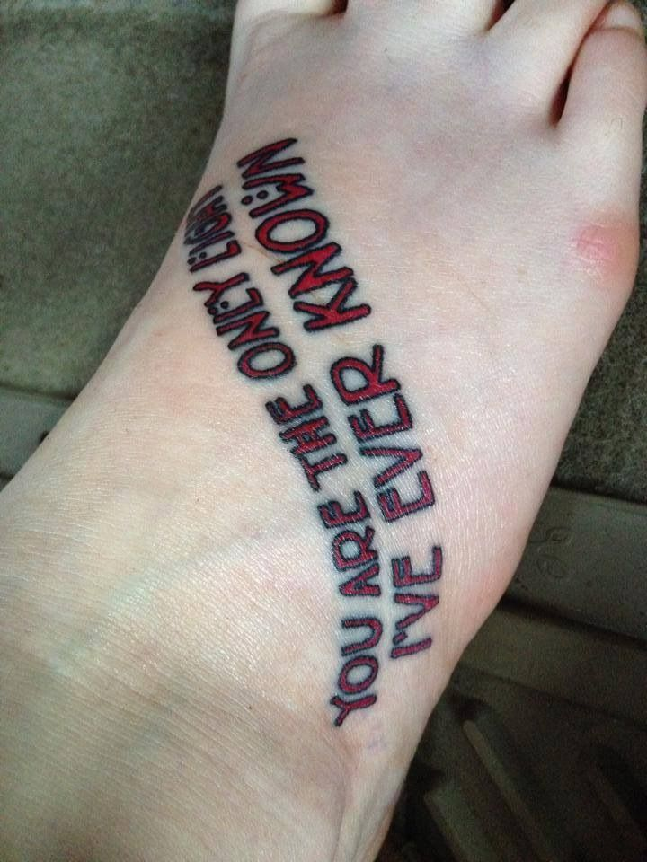 American Horror Story 3 This Will Be The Quote I Get Along The Side Of The Side Piece I Want American Horror Story Tattoo Story Tattoo American Horror Story