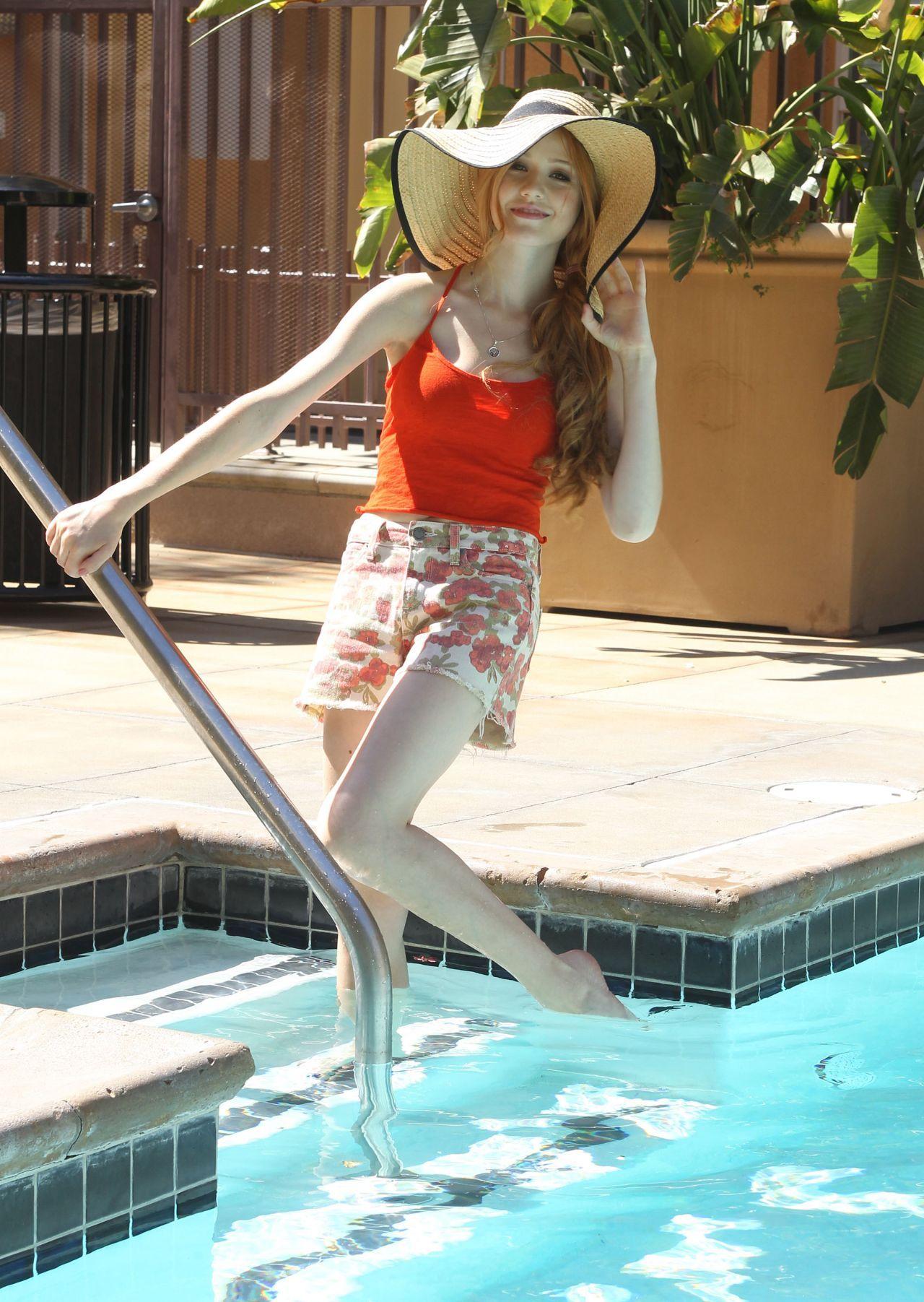 Katherine Mcnamara Photoshoot By A Pool In Los Angeles September 2014 Katherine Mcnamara Photoshoot Katherine