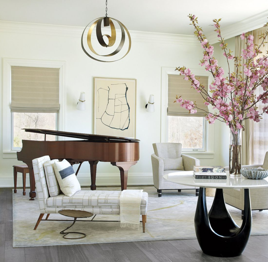 17 Piano Rooms With Great Design Composition | Piano room, Pianos ...