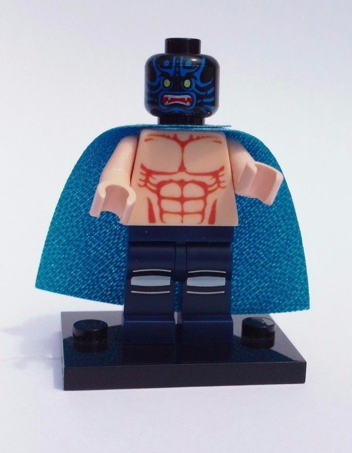 CUSTOM LEGO BATMAN WRESTLER PRINTED TORSO LUCHA LIBRE MIL