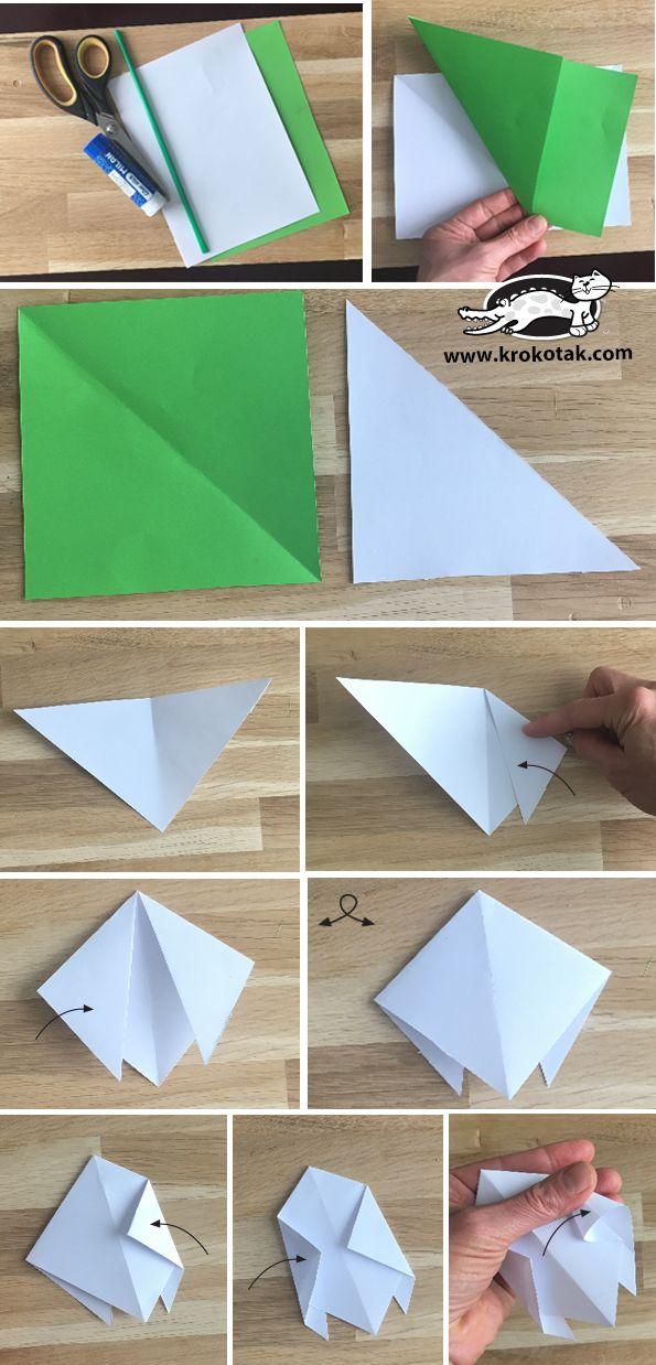 Krokotak Snowdrops Origami Paper Butterflies Origami Paper Crafts