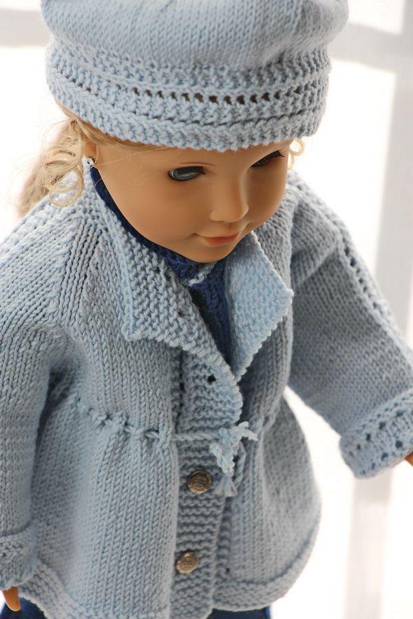 knitting patterns for american girl dolls | Maalfrid-Gausel Knitting ...