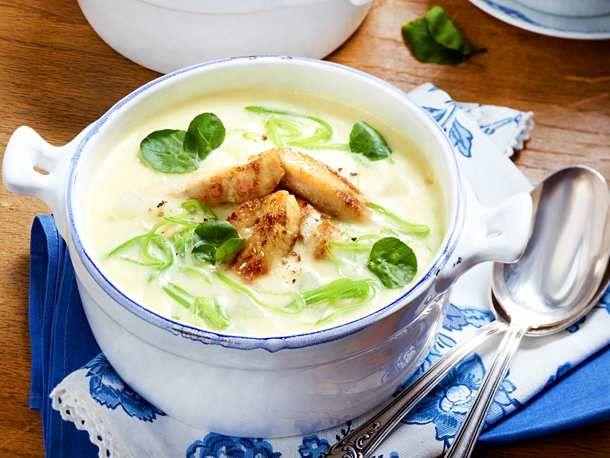 Kohlrabi-Suppe Rezept | LECKER