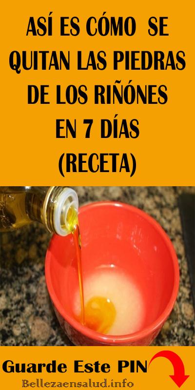 Esto Es Cómo Quito Las Piedras Del Riñón En 7 Días Receta Piedras Riñón Salud Remedios Healthy Tips Health Soap Bottle