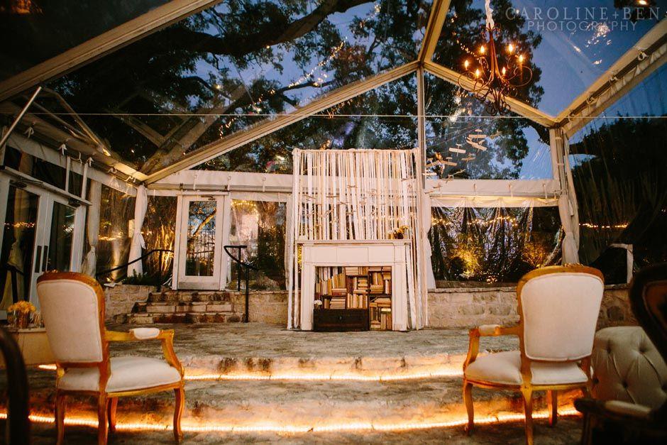 Allan House Austin Texas Wedding Venue Outdoor Wedding