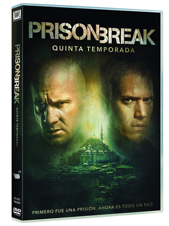 Prison Break Temporada 5 Dvd Break Prison Dvd Temporada Dvd Temporadas Series Y Peliculas