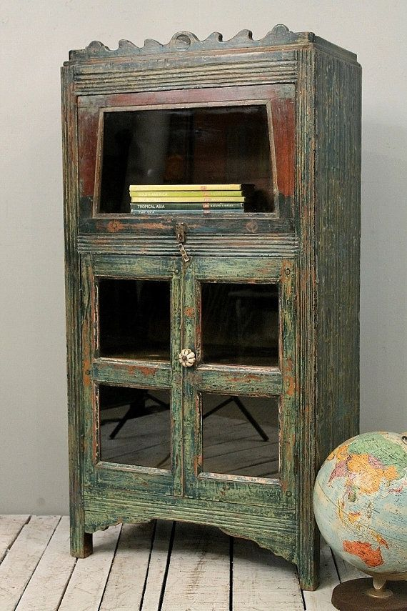 SALE Vintage Indian British Colonial Radio Cabinet Bookcase Curio Media  Cabinet Kitchen Storage on Etsy, - SALE Vintage Indian British Colonial Radio Cabinet Bookcase Curio