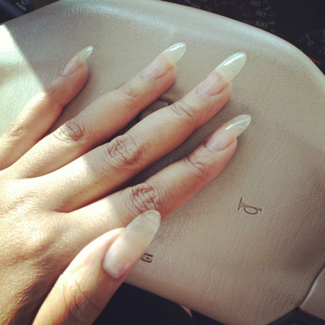 My Real Nails Look Like Claws Lol