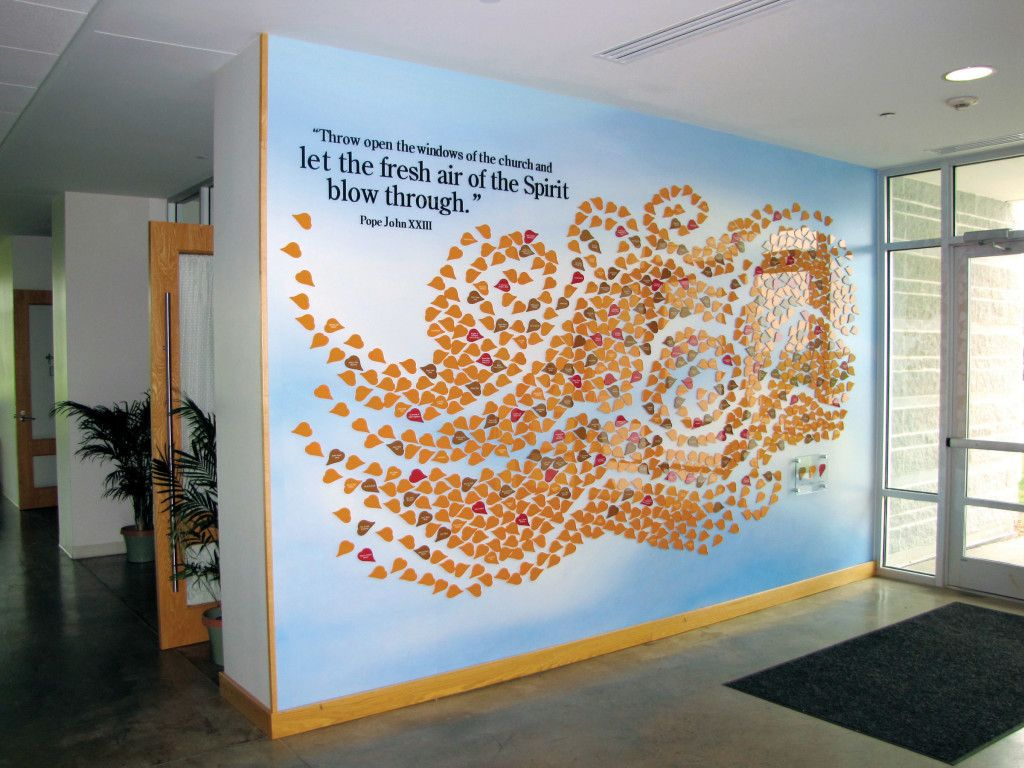 Donor Recognition Wall for House of Worship | Donor Walls ...