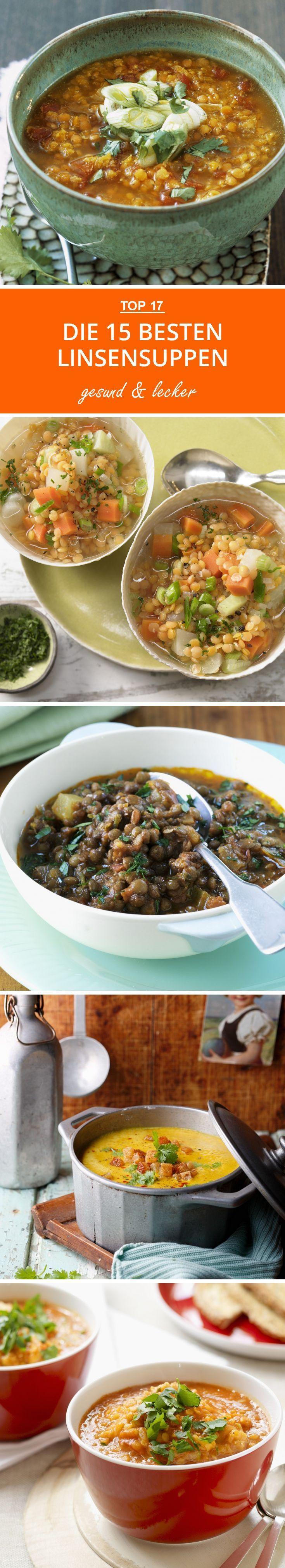 die besten linsensuppen linsensuppe suppen rezept vegetarisch und linsengerichte