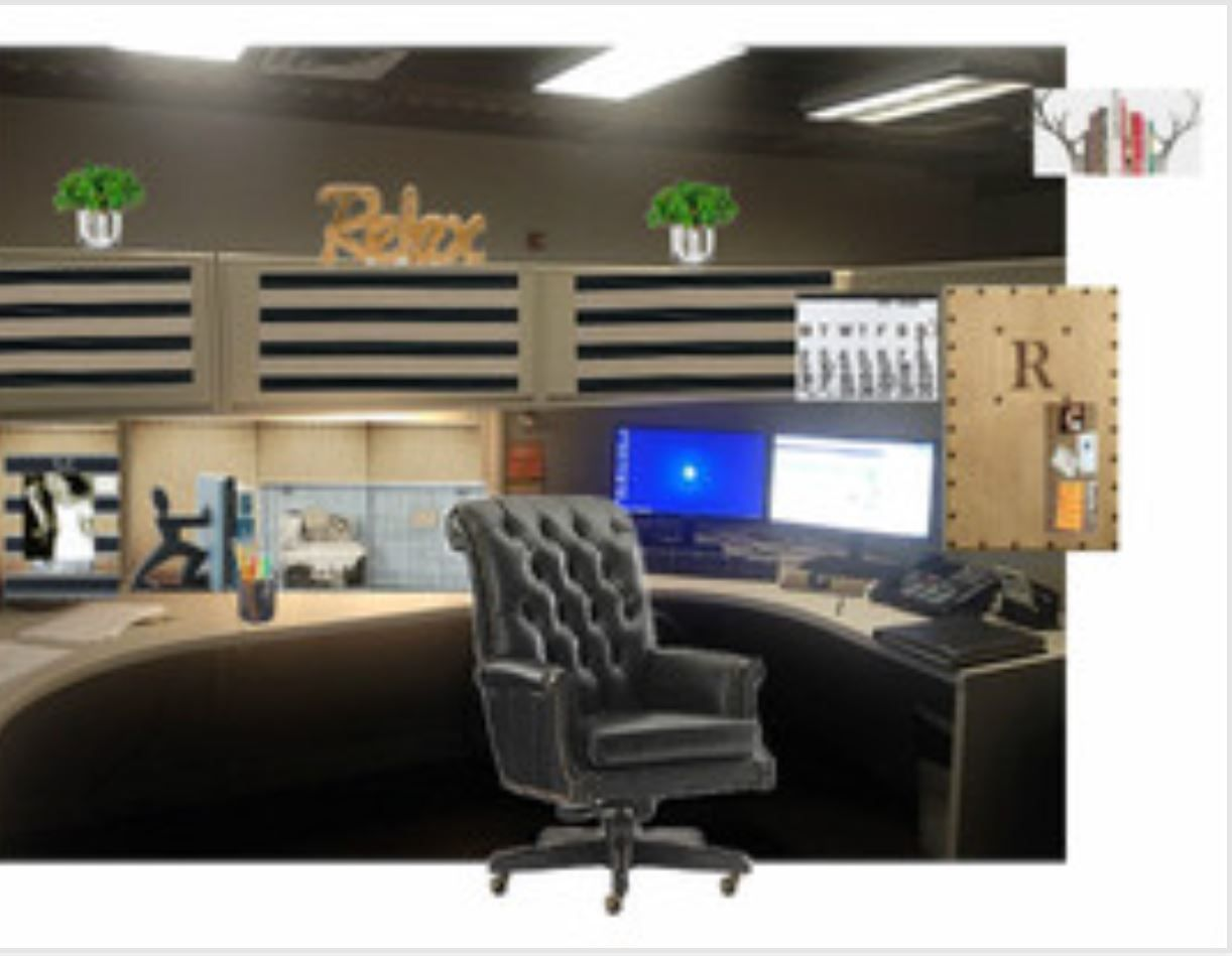 Masculine Office Design Cubicle Office Design Cubicle Decor