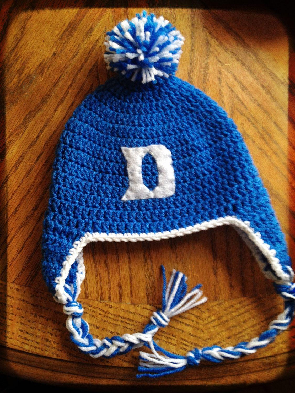 20fc09f050f Duke Blue Devils college basketball crochet by CutesieCakeDesigns
