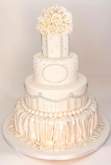 A White Wedding Cake By Cake Boss Buddy Valastro To Win Your Own