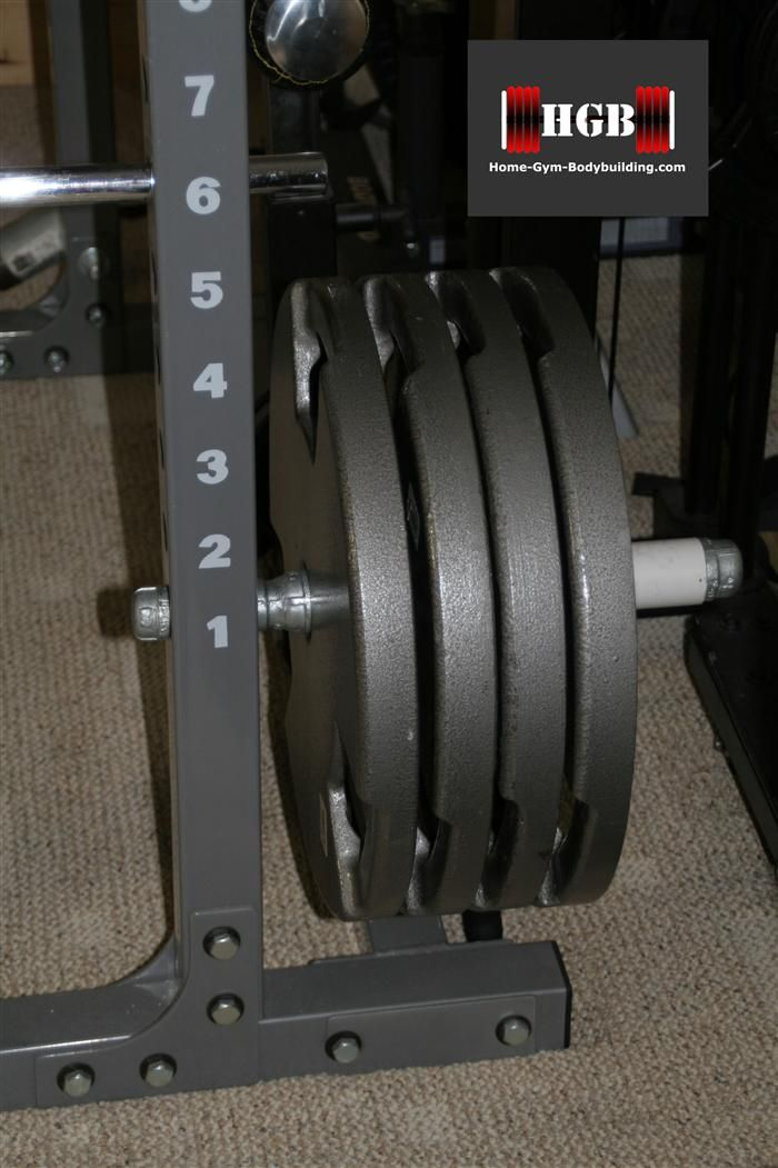 Homemade Olympic Plate Holder. Make a power rack plate holder out of pipe fittings and pvc. & Homemade Olympic Plate Holder. Make a power rack plate holder out of ...