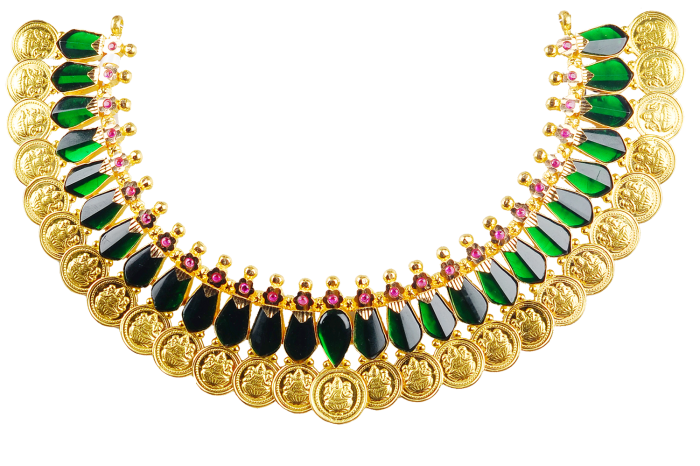 Palakka mala is unique set of gold necklaces in Kerala belongs to  traditional categorie… | Bridal fashion jewelry, Antique jewelry indian,  Wedding jewellery designs