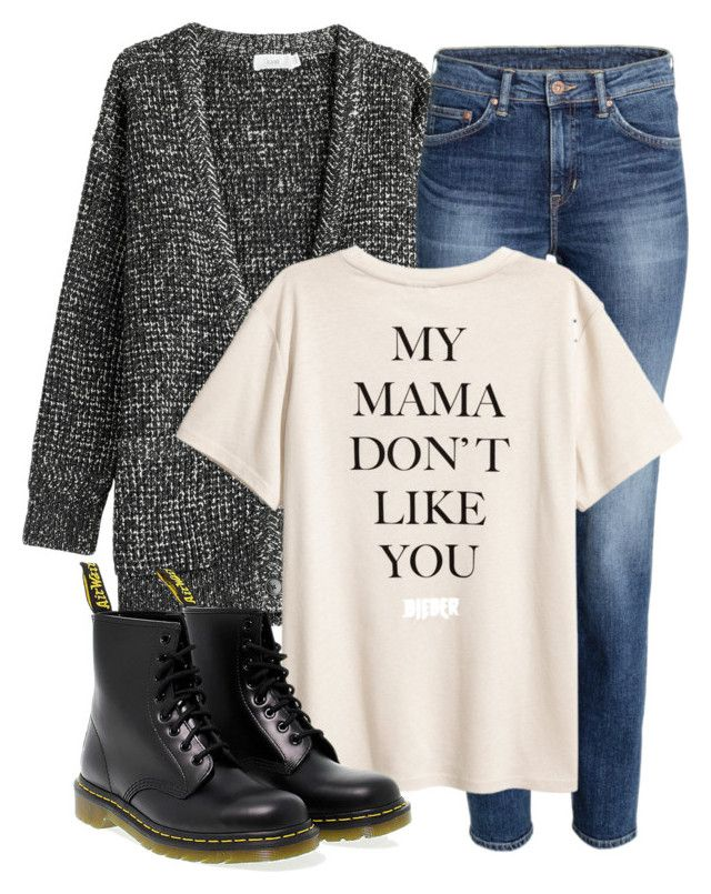 """""""Matt Inspired Outfit"""" by fangsandfashion ❤ liked on Polyvore featuring Closed and Dr. Martens"""