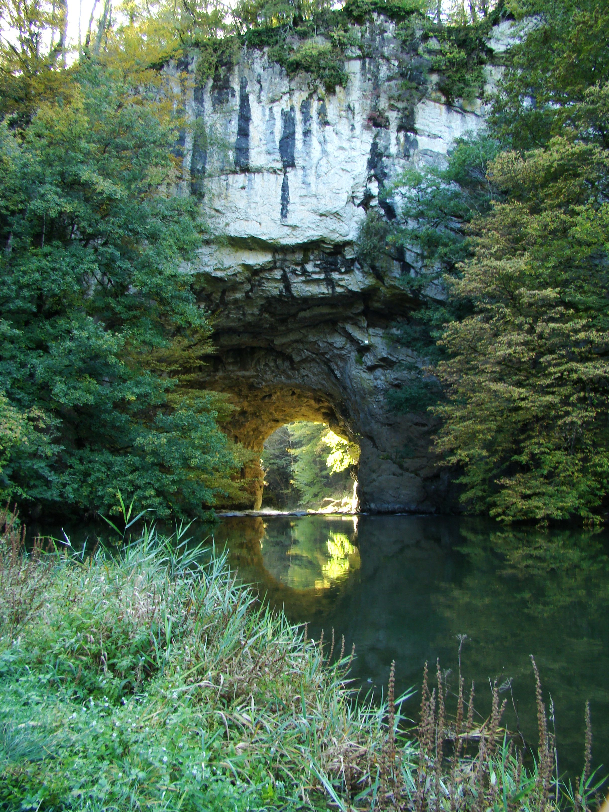 Great Natural Bridge In Rakov Skocjan Slovenia Visit Slovenia Natural Bridge Wonders Of The World