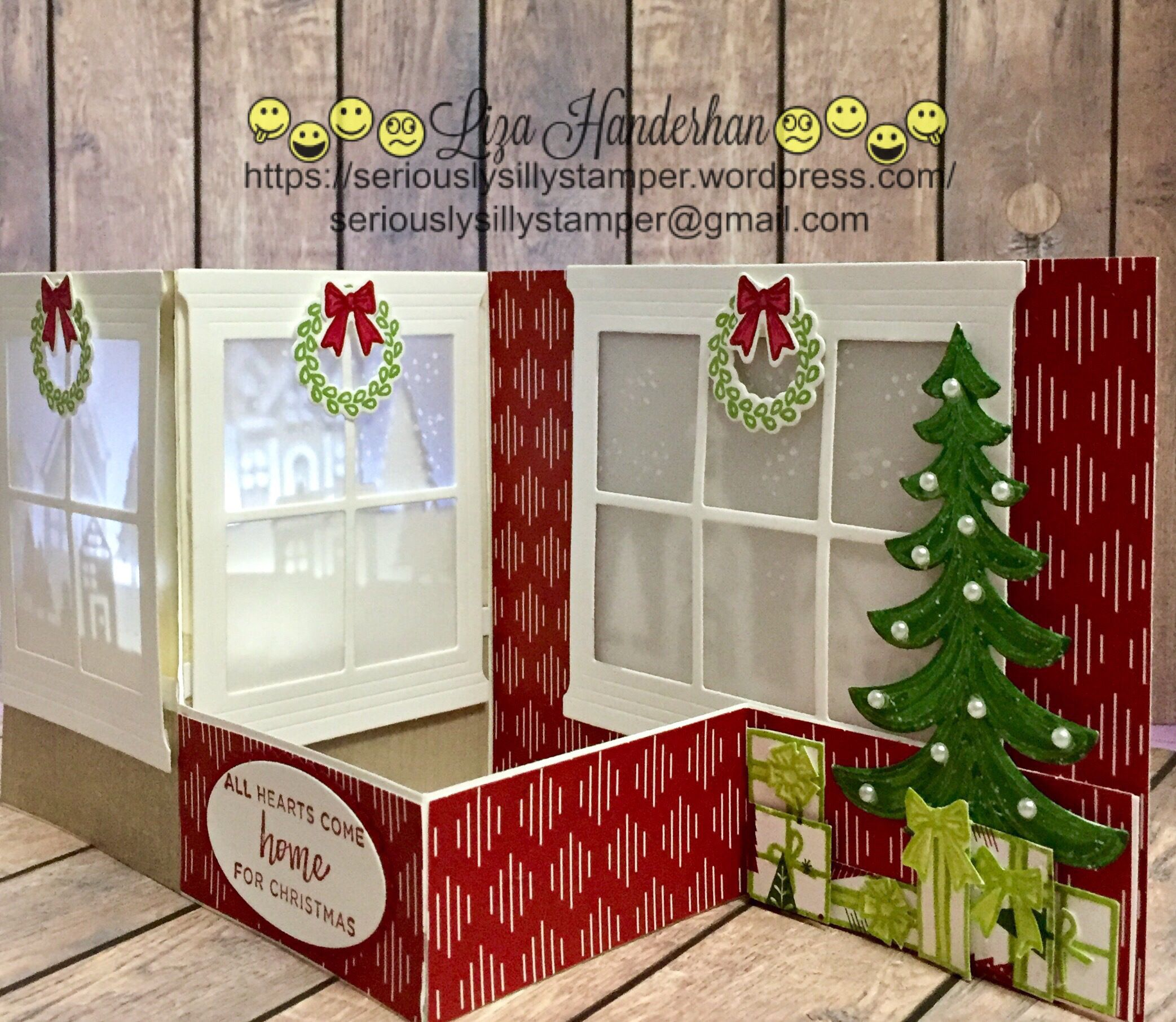 Image Result For Double Z Fold Christmas Cards