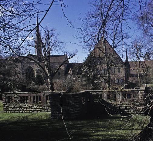 Ruine des ehemaligen Pfründhauses von Kloster Maulbronn