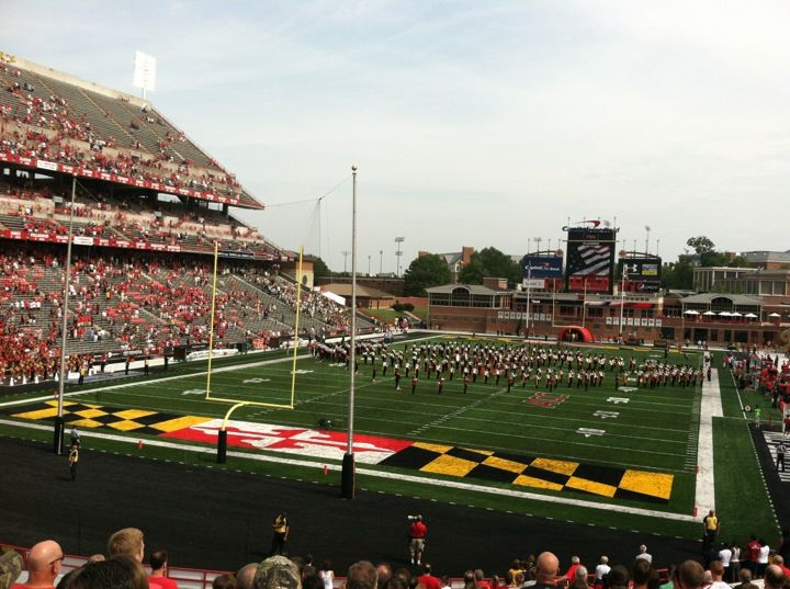 Twirled With The Umd Marching Band Stadium Field Capital One