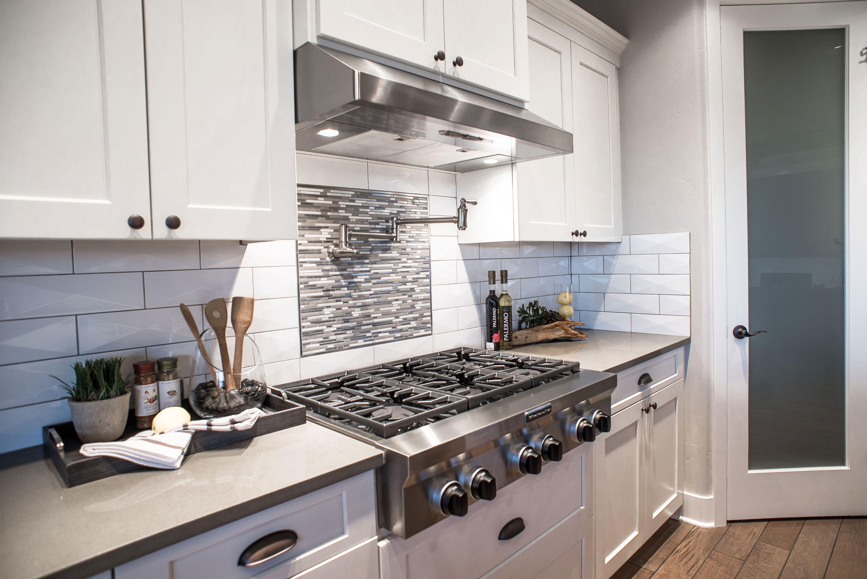 pentagon shaped backsplash tile Current New Home Design Trends Pinterest