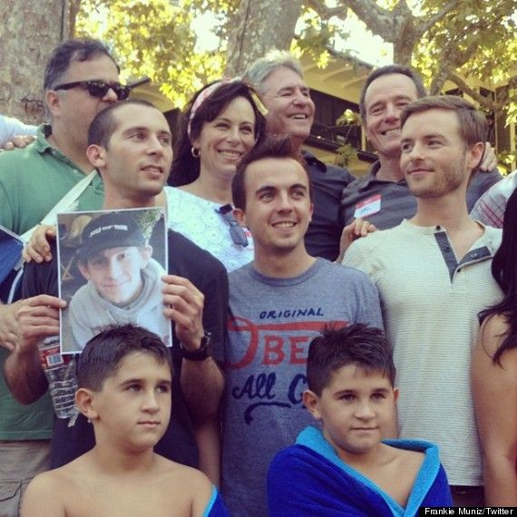 Malcolm In The Middle' Cast Reunites   Frankie muniz, The middle ...