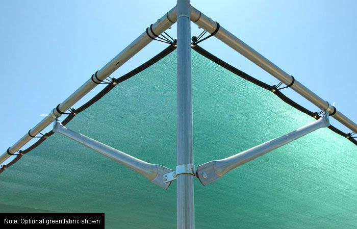 Economy Shade Structure Yoga Shade Structure Pvc Pipe