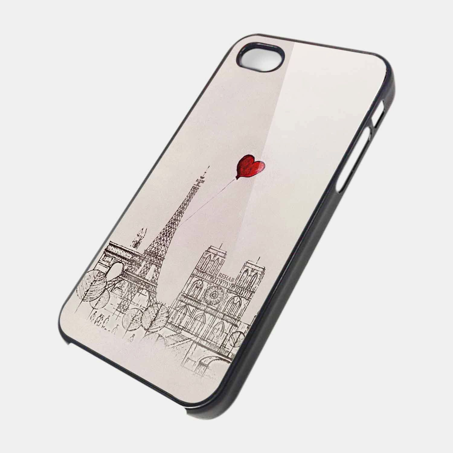 Paris eifel iLove iPhone iphone 4 /4s /5 ,samsung s2,samsung s3 case cover. $15.99, via Etsy.