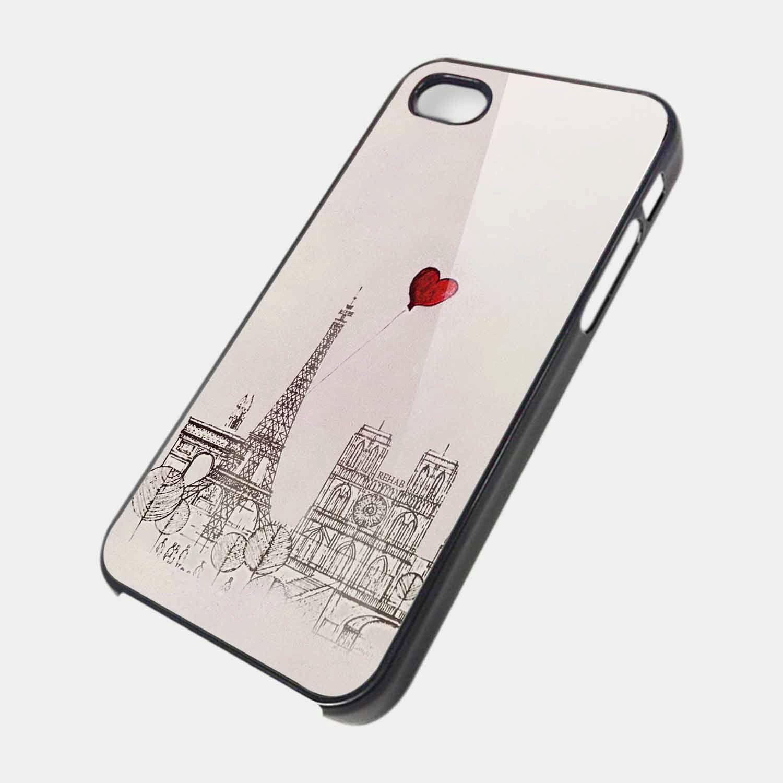 Paris eifel iLove iPhone iphone 4 /4s /5 ,samsung s2,samsung s3 case cover. $15.99, via Etsy.