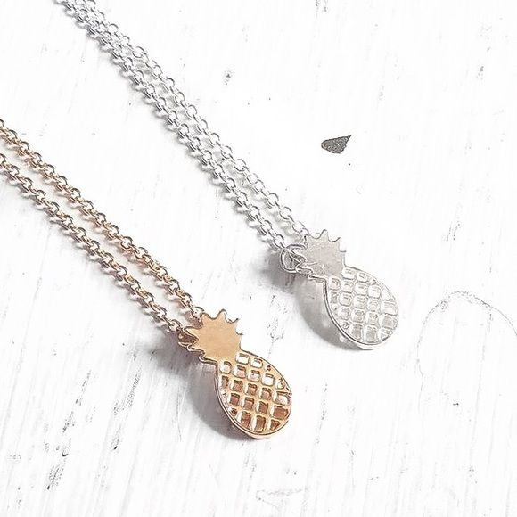 Spotted while shopping on Poshmark: • Pineapple Necklaces •! #poshmark #fashion #shopping #style #Jennifer's Chic Boutique #Jewelry