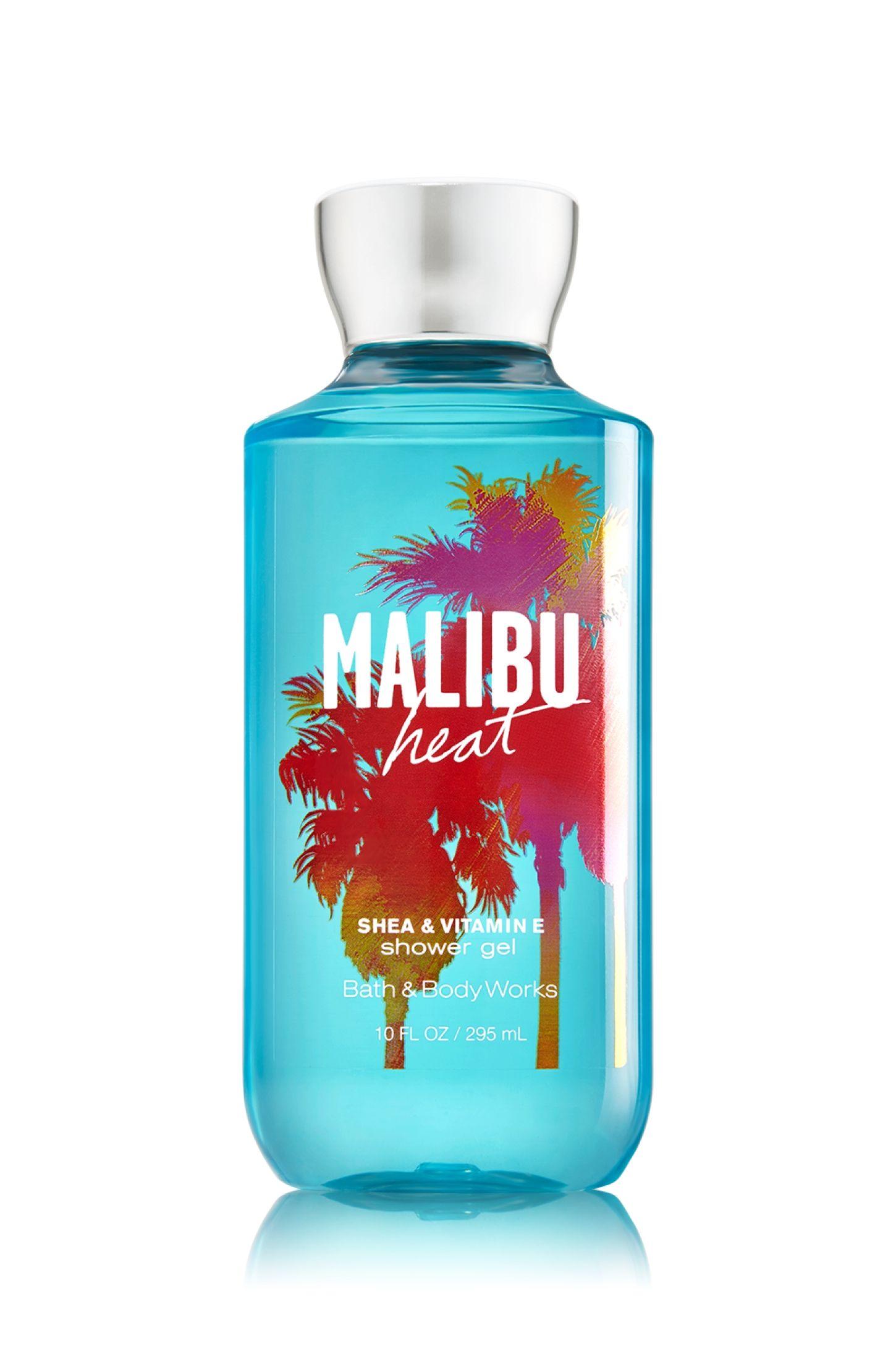 Malibu Heat Shower Gel - Signature Collection - Bath & Body Works ...