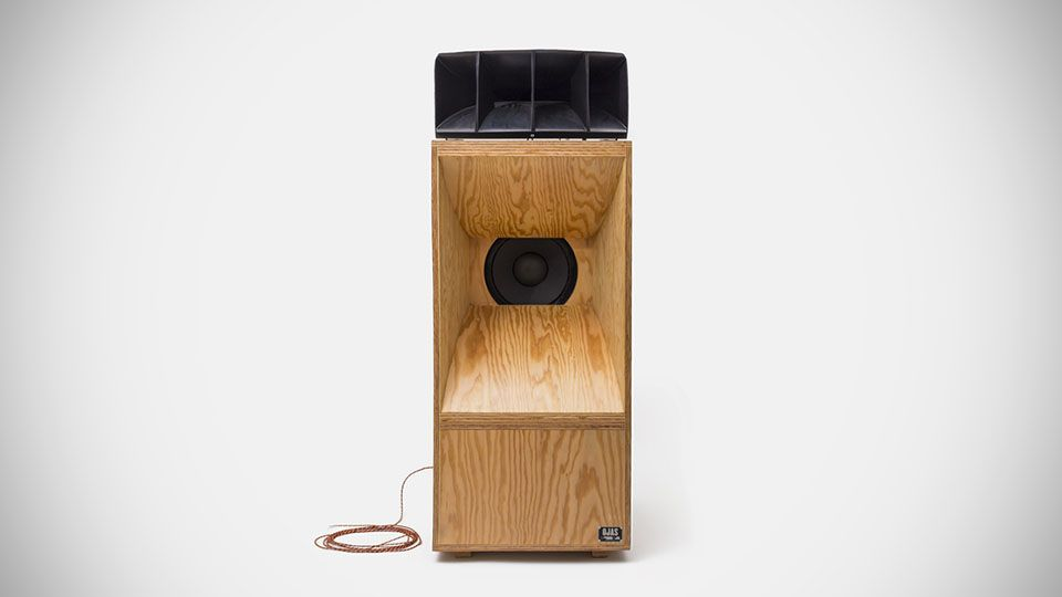 Saturdays turned to Devon Turnbull to create these handsome Ojas Speakers