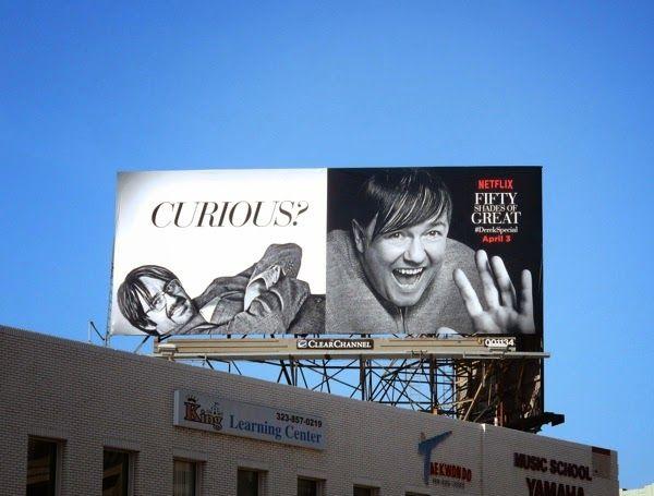 Fifty Shades Of Grey Curious Derek Spoof Billboard