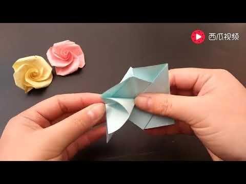 Origami plum blossom flower version 1 youtube craft origami plum blossom flower version 1 youtube mightylinksfo